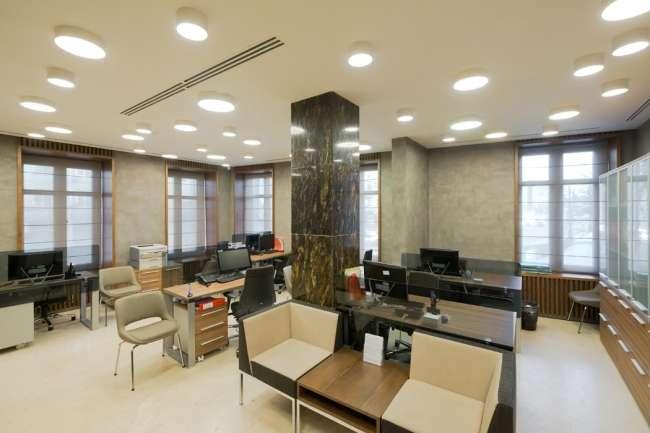 Ремонт банка: особенности дизайнерских решений